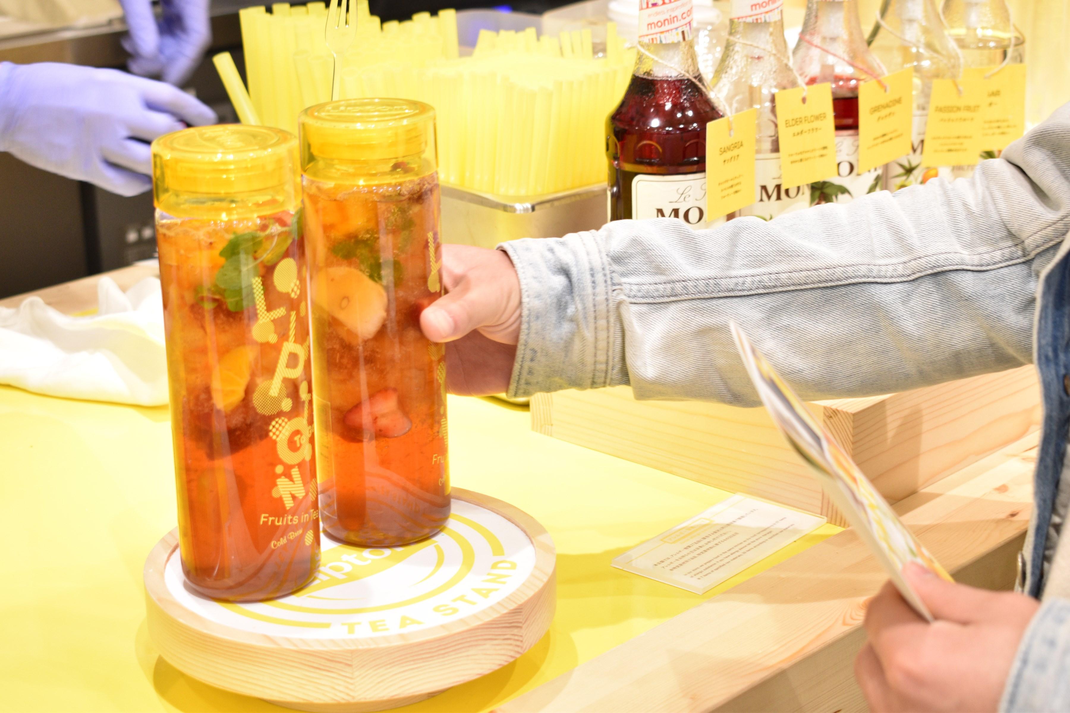 あなたの毎日に紅茶のある暮らしを提案「Lipton TEA STAND」 - s DSC 0545