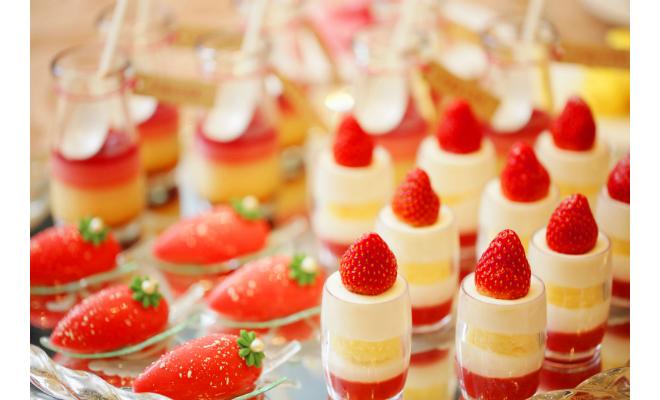 ストリングスホテル名古屋のブッフェレストランで『ストロベリーデザートフェア』開催