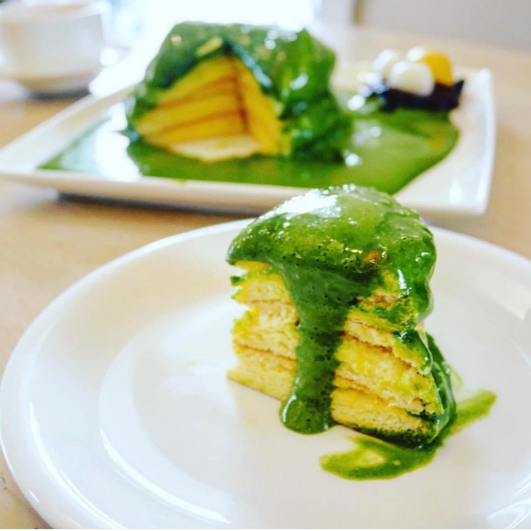 西尾のブランド抹茶を使ったパンケーキやかき氷が楽しめる『cafe LUKE』 - CafeLUKE from instagram