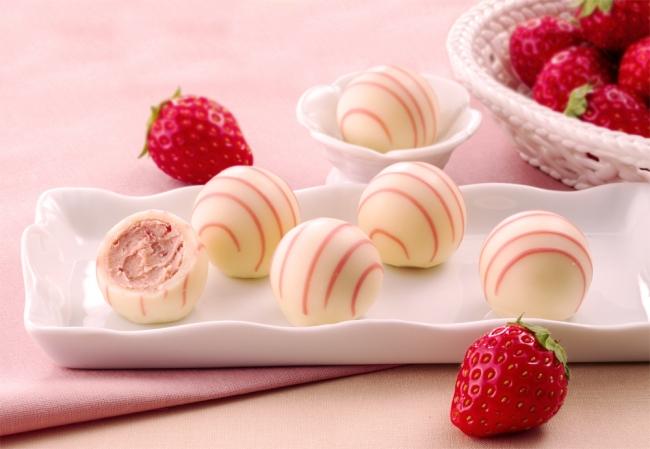 銀のぶどうから苺のトリュフ、ショコラローズが期間限定で登場! - ginbudou01