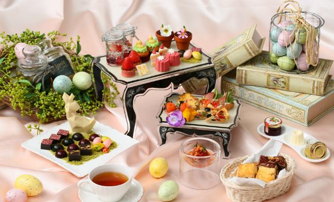 イチゴをふんだんに使ったアフタヌーンティー開催中!テーマは春の祭典『イースター』