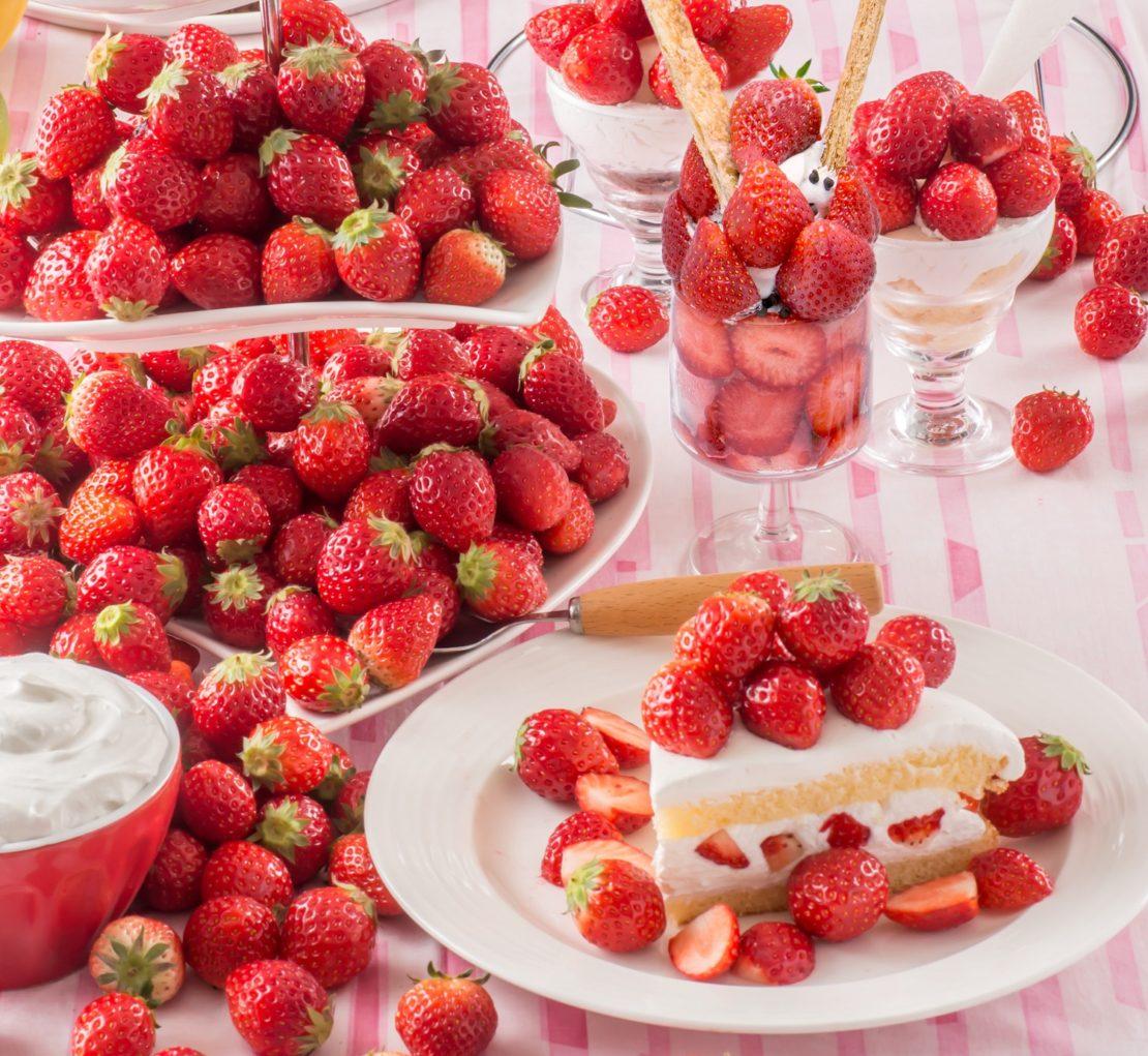 スイパラの春は、夢いっぱいのいちご祭り!『苺・とちおとめ食べ放題』