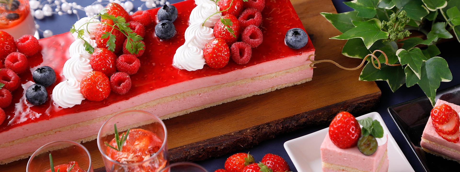旬のいちごを贅沢に楽しめる「ナイトスイーツブッフェ ~Strawberry Hunt~」が開催! - restaurant grindelwald plan43022 img02