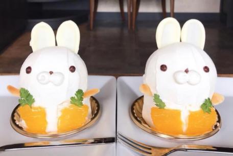 可愛いが止まらない。Patisserie MiuLa「白うさぎ」ケーキのつぶらな瞳に胸キュン!