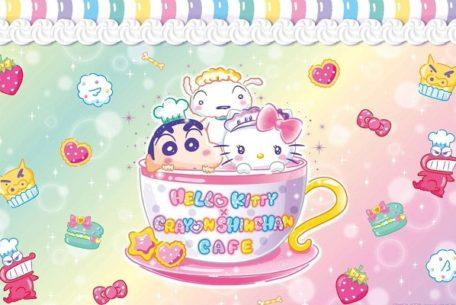 2大キャラ夢の共演!名古屋PARCOで『HELLO KITTY × CRAYON SHINCHAN CAFE』が開催