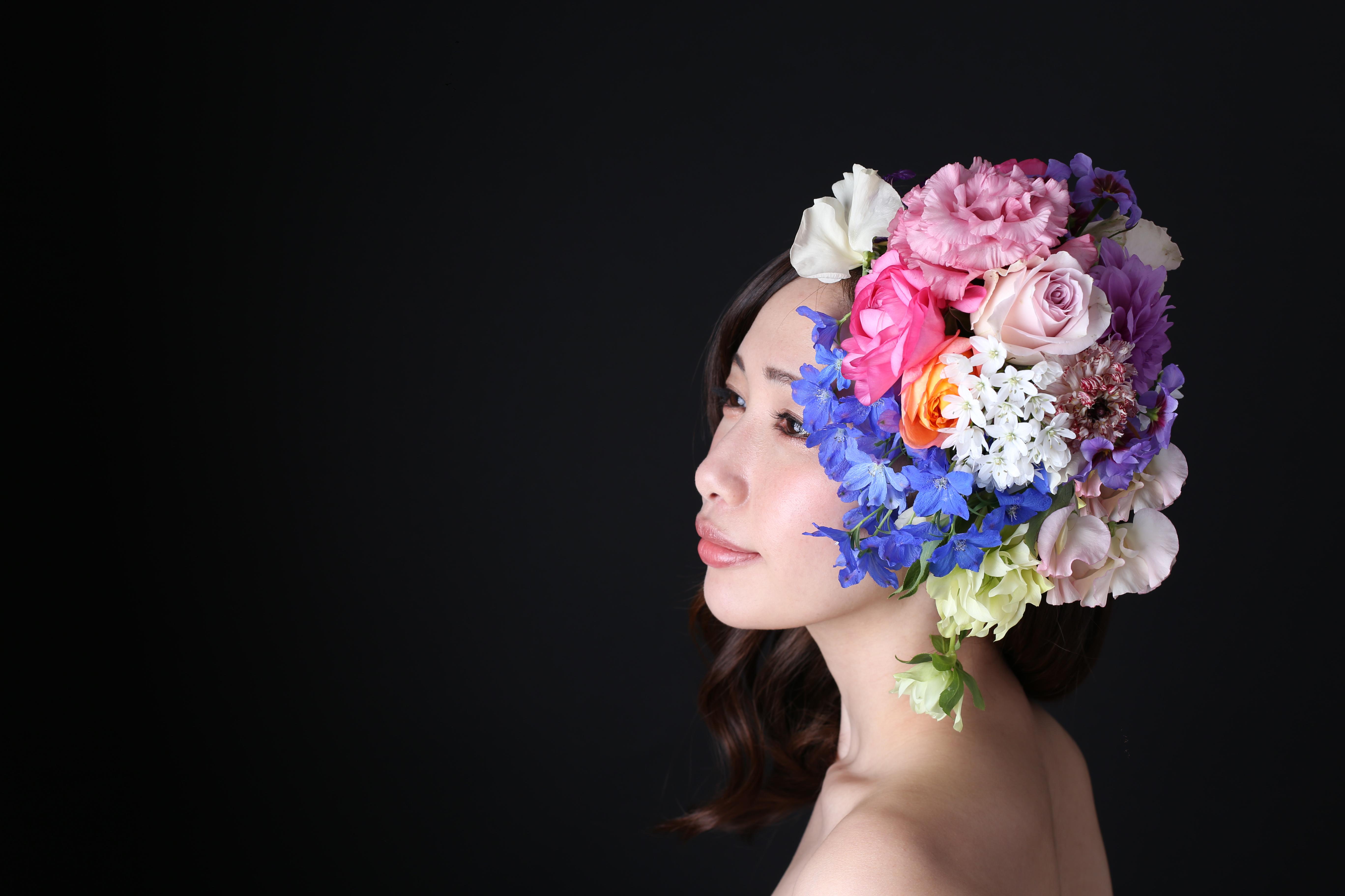 頭に花を盛れる贅沢体験とは?「HANANINGEN」であなただけの一枚を。 - 22
