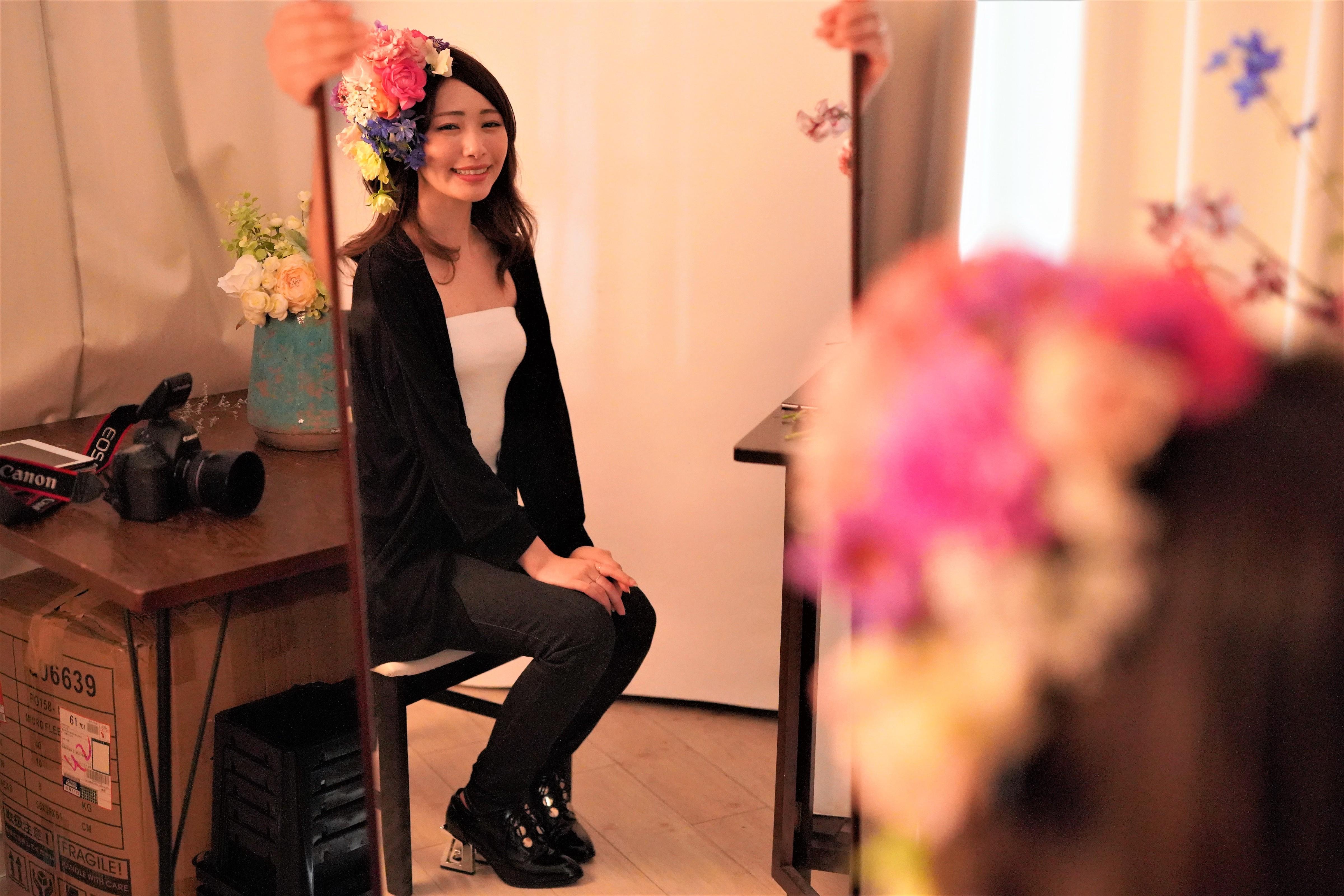 頭に花を盛れる贅沢体験とは?「HANANINGEN」であなただけの一枚を。 - DSC06738 2 1