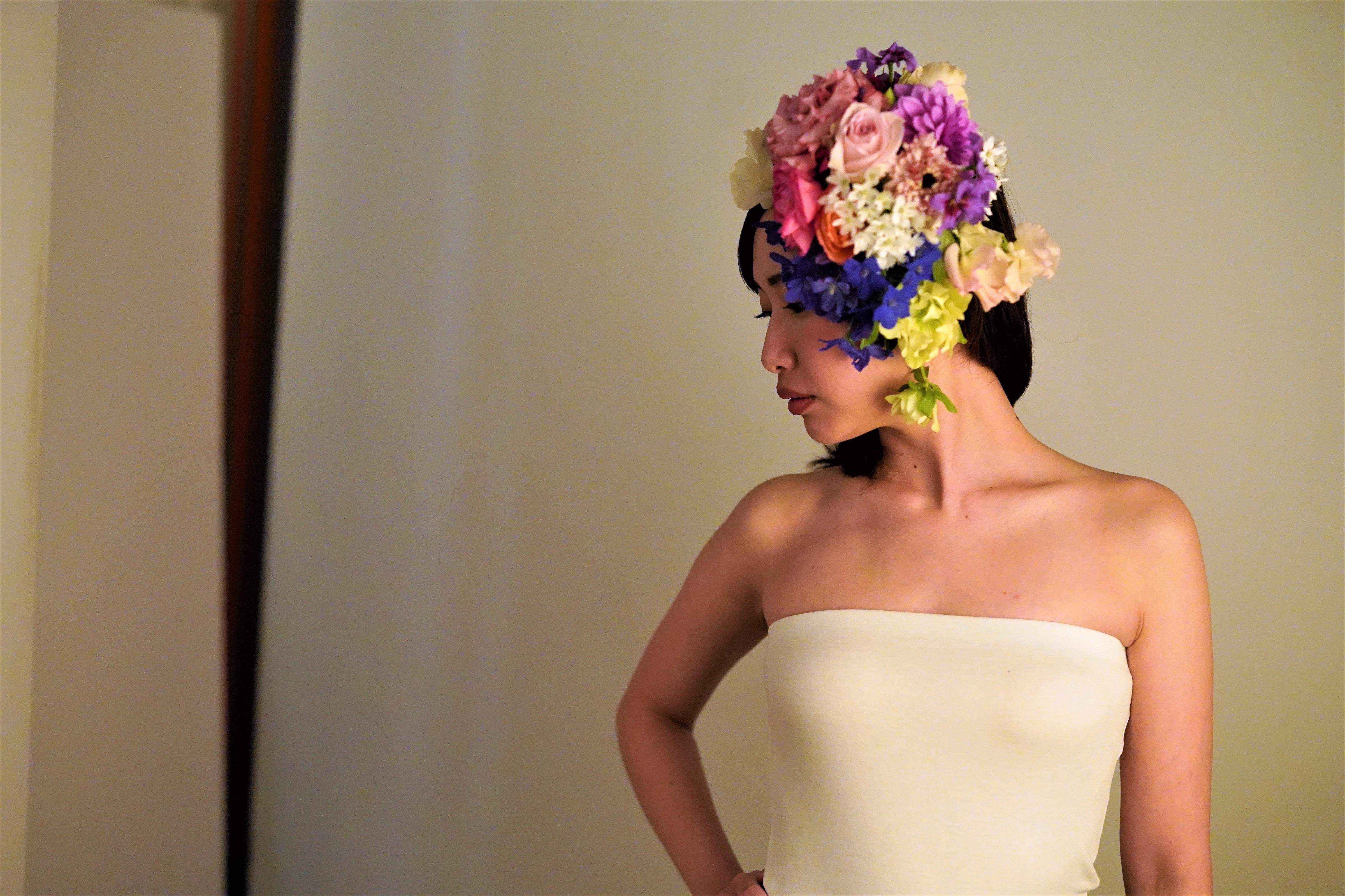 頭に花を盛れる贅沢体験とは?「HANANINGEN」であなただけの一枚を。 - DSC06754 2