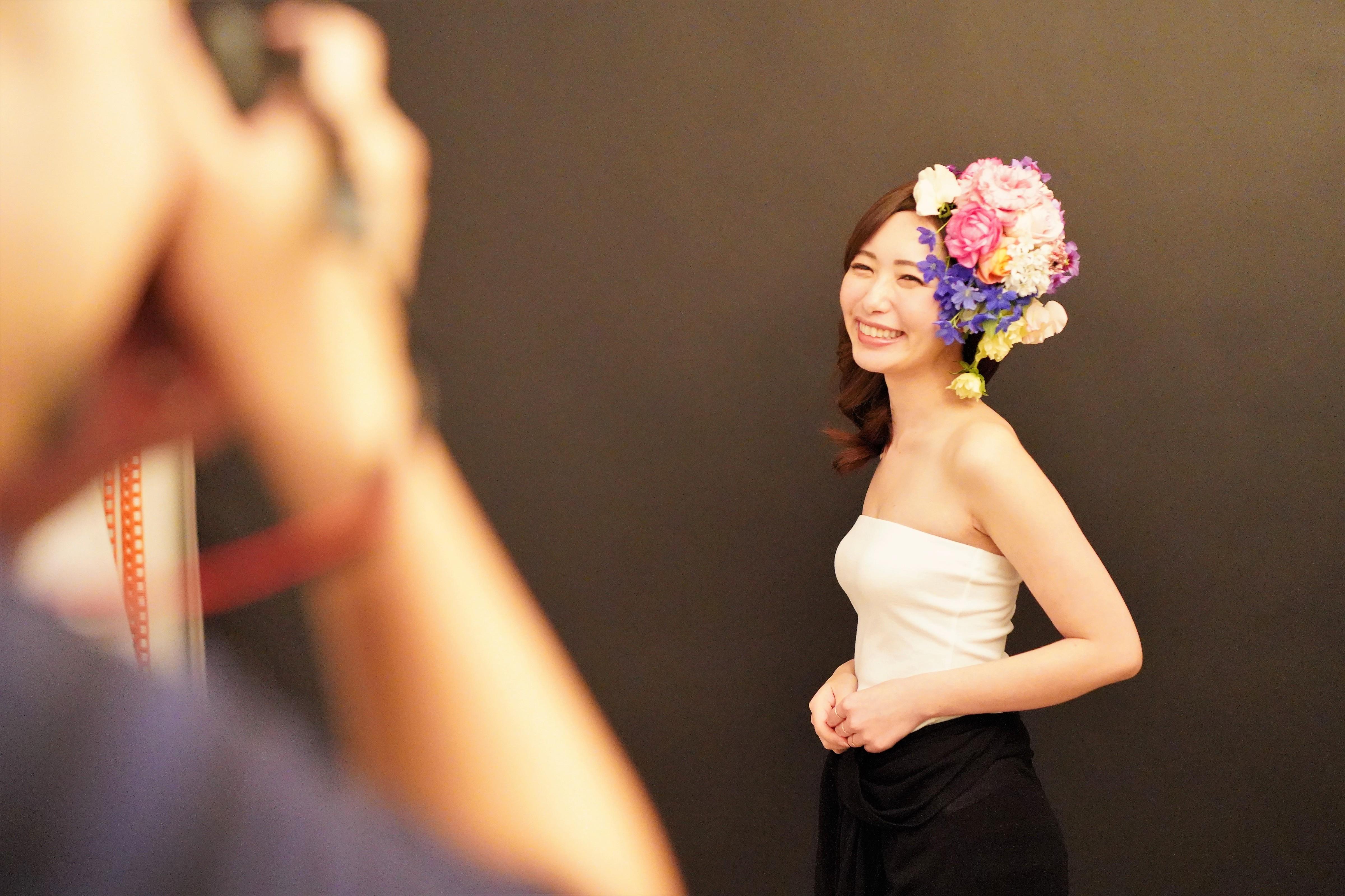 頭に花を盛れる贅沢体験とは?「HANANINGEN」であなただけの一枚を。 - DSC06767 2