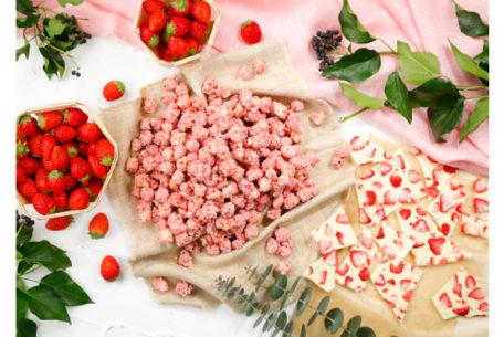 ギャレットポップコーンに期間・数量限定の『ベリーベリーホワイトチョコレート』が登場