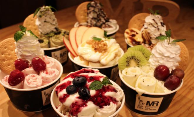 「マンハッタンロールアイスクリーム」が2019年春夏の新作メニューを4月から販売