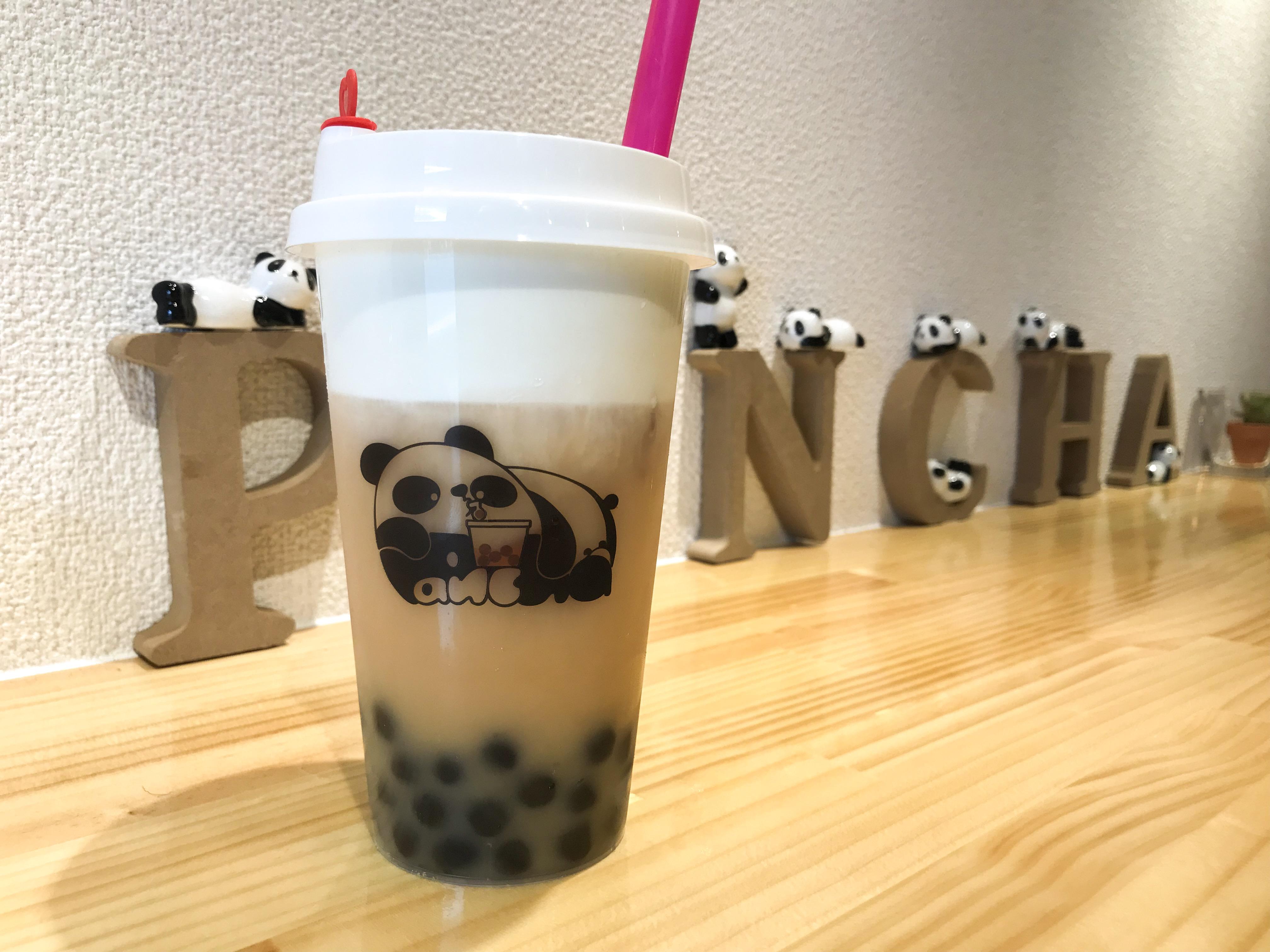 パンダがコンセプト!タピオカドリンクのお店「Pancha(パンチャ)」が大須にオープン - pancha