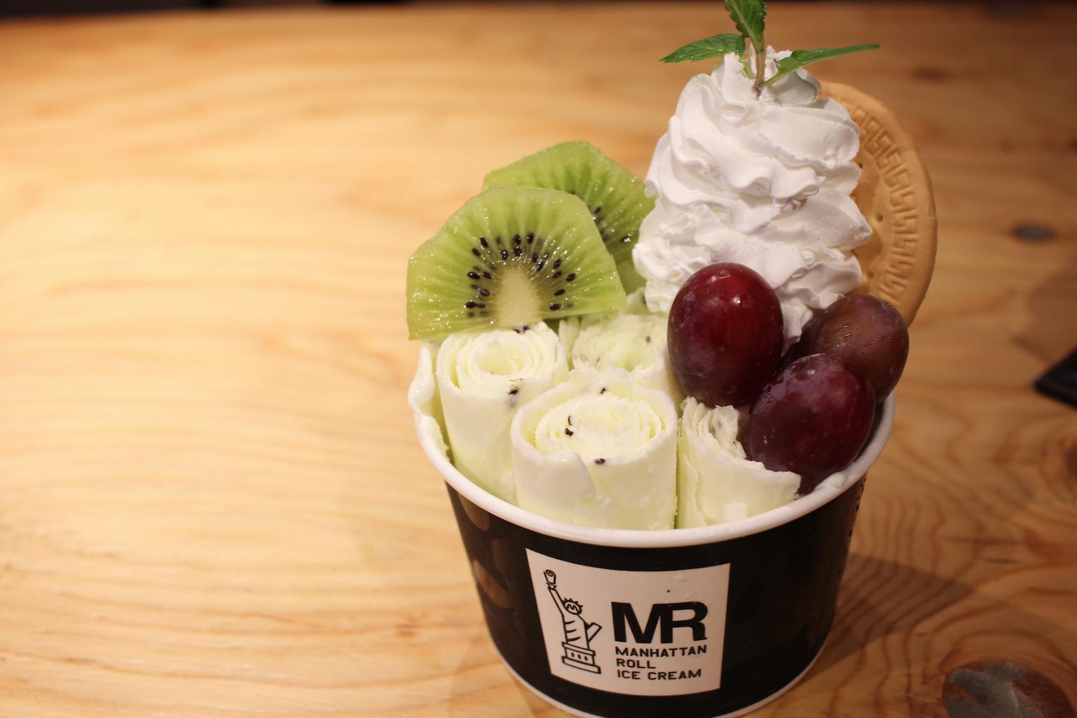 「マンハッタンロールアイスクリーム」が2019年春夏の新作メニューを4月から販売 - sub6