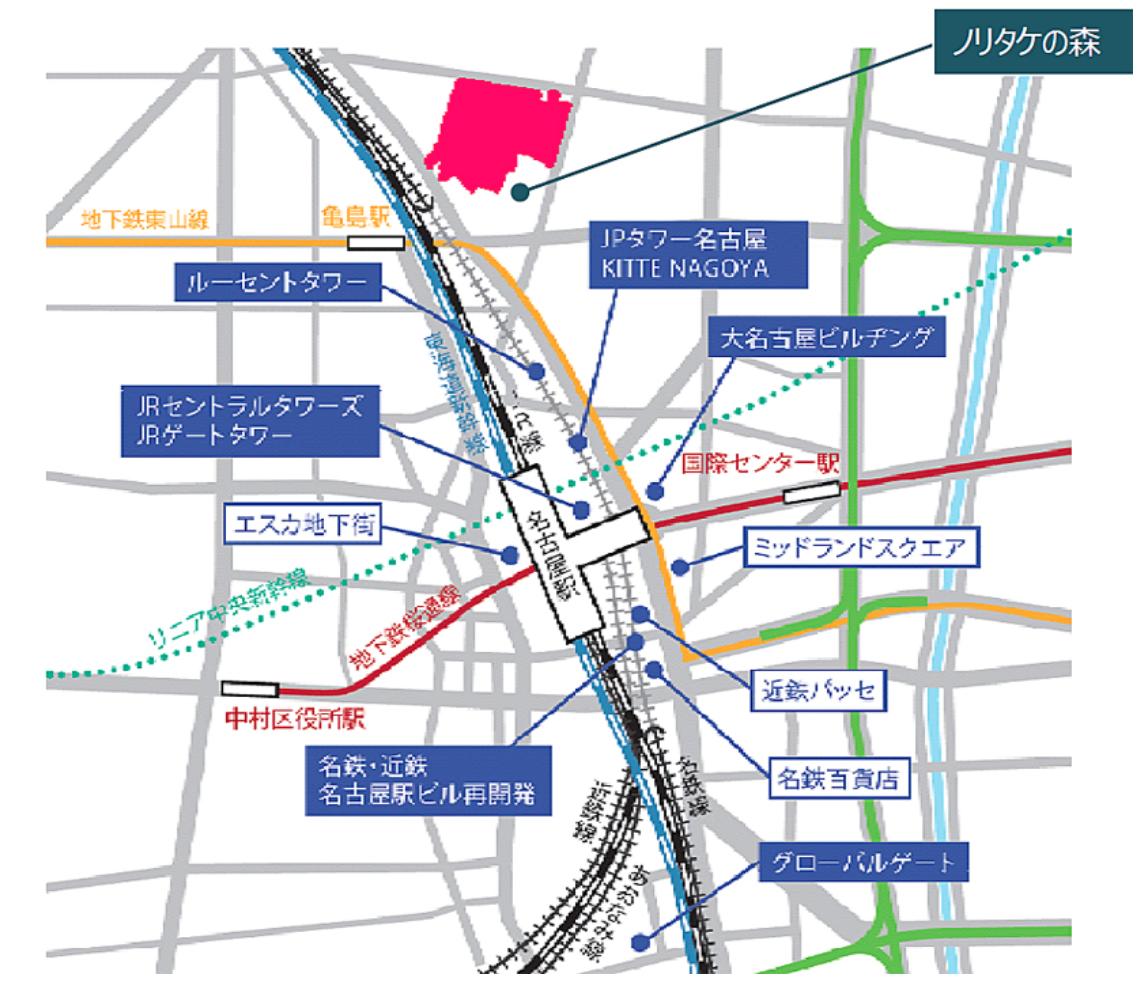 2021年秋、名古屋のオフィスワーカーを支える新たなイオンモールが「ノリタケの森」に誕生 - 20dc79caf8f35b8eae18d42a093c60ed