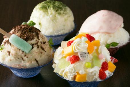 サーウィンストンホテルが、フルーツや抹茶など4種類のかき氷を期間限定販売!