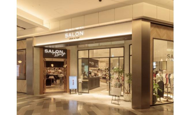 東海初!ファッションとフードのコンセプトショップ『サロン アダム エ ロペ』がオープン