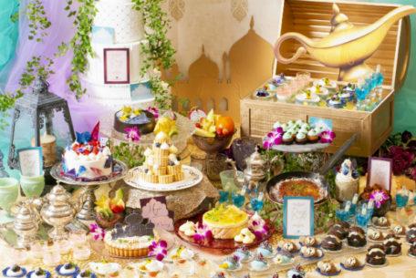 テーマはアラジンと魔法のランプ!デザートブッフェ/ランチ付きデザートブッフェ開催