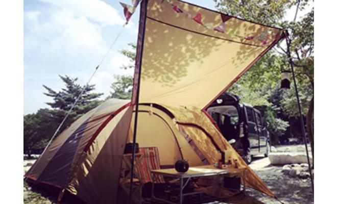 名古屋から車で1時間!川遊びもできる三重県菰野町の『八風キャンプ場』