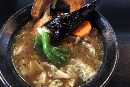 まだ肌寒い日には、絶品スープカレー!金山駅から徒歩7分「SOUP CURRY ISHIBA」