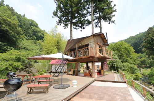 楽しくBBQやグランピング!夏休みにもオススメの『ウッドデザインパーク岡崎』 - treehouse cts01