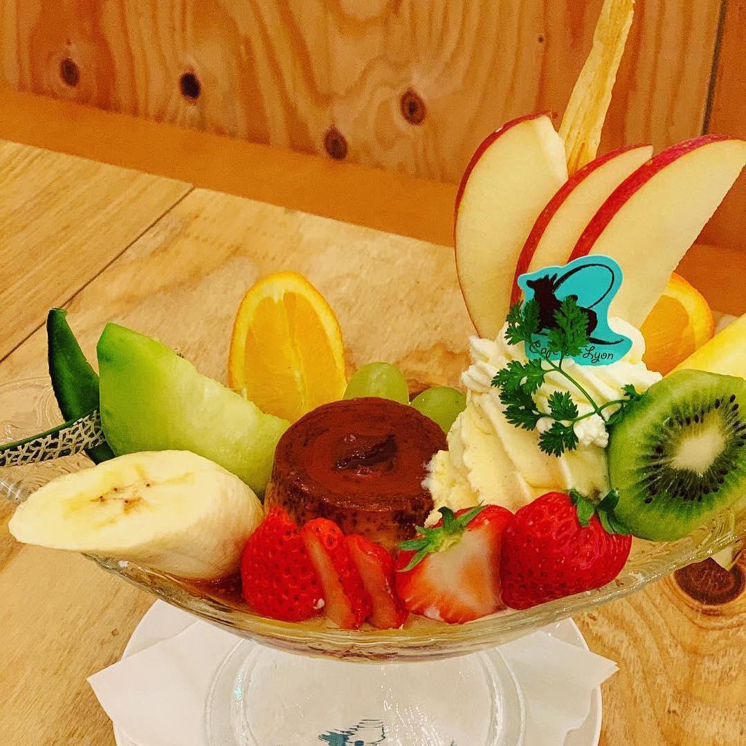 たっぷりのフルーツが美しい!贅沢パフェは「カフェ・ド・リオン パレット」で - 57374669 356001118374961 8306149728680227895 n