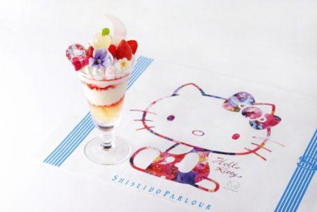 【期間限定】資生堂パーラーにハローキティと蜷川実花のコラボパフェが登場!