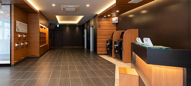 名古屋駅エリアに初出店!『R&Bホテル名古屋新幹線口』が新たにオープン - img lobby