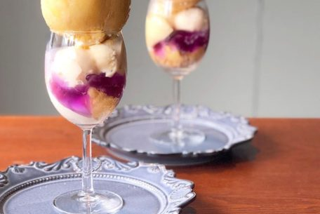 贅沢すぎる!「LITRE」まるごと桃のパルフェで至福のひとときを