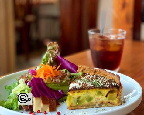 丁寧なタルトの時間を味わう、大須の「QO cafe air(キュームカフェ エア)」 - 12faa67ac1442b10883da51c7124c005