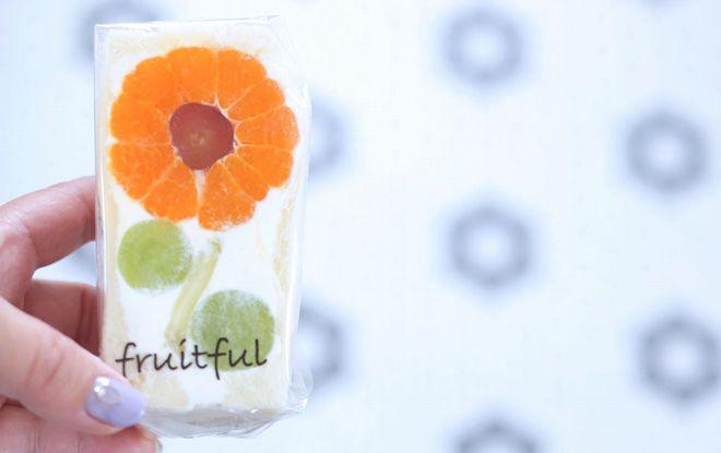 お花をかたどったキュートな断面のフルーツサンド「fruitful(フルーツフル)」 - 67653451 431943567534438 1079711124166803456 o