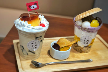 名古屋パルコ30周年とCheek35周年を記念したコラボカフェ「喫茶パルチーク」