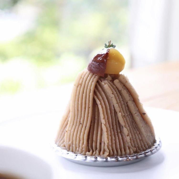 絶品モンブランに秋を感じる、岐阜県各務原市のカフェ「喫茶室 山脈」