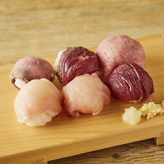 5種の肉の肉寿司が楽しめる!今池『肉笑門〜NIKUEMON〜』9月18日オープン - sub4 3