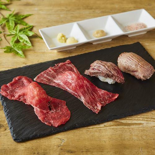 5種の肉の肉寿司が楽しめる!今池『肉笑門〜NIKUEMON〜』9月18日オープン - u439 w500h500