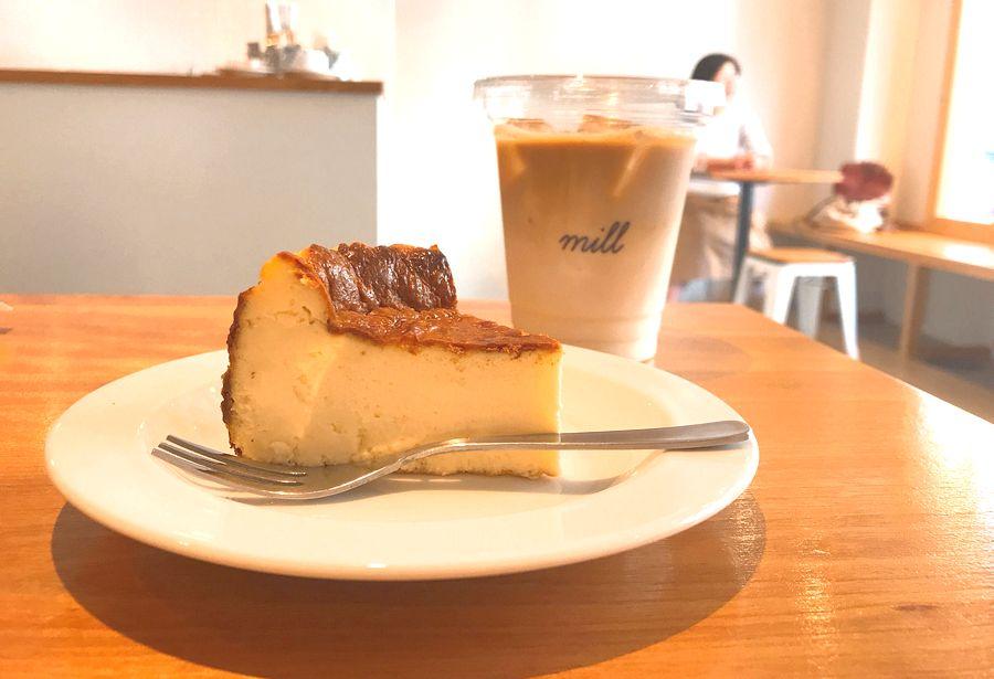 大須のカフェ「mill」で手作りバスクチーズケーキや名古屋モーニングを味わおう - 510b29c9147de6e48aea4153f5a900bf