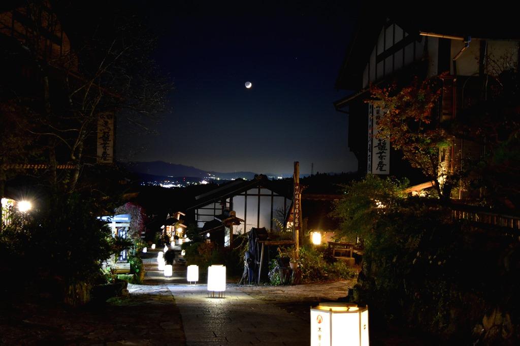 行灯に照らされる街道が美しい!秋の岐阜「馬籠宿場まつり」で歴史ある宿場町へ - DSC 0035