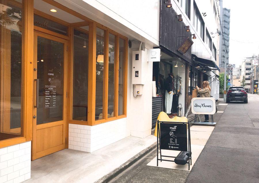 大須のカフェ「mill」で手作りバスクチーズケーキや名古屋モーニングを味わおう - a49c0d19a149f85ad909658a0c8ca976