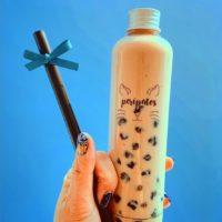 ボトルが可愛い!岡崎市のカフェ「Peripatos」のタピオカドリンクをチェック!