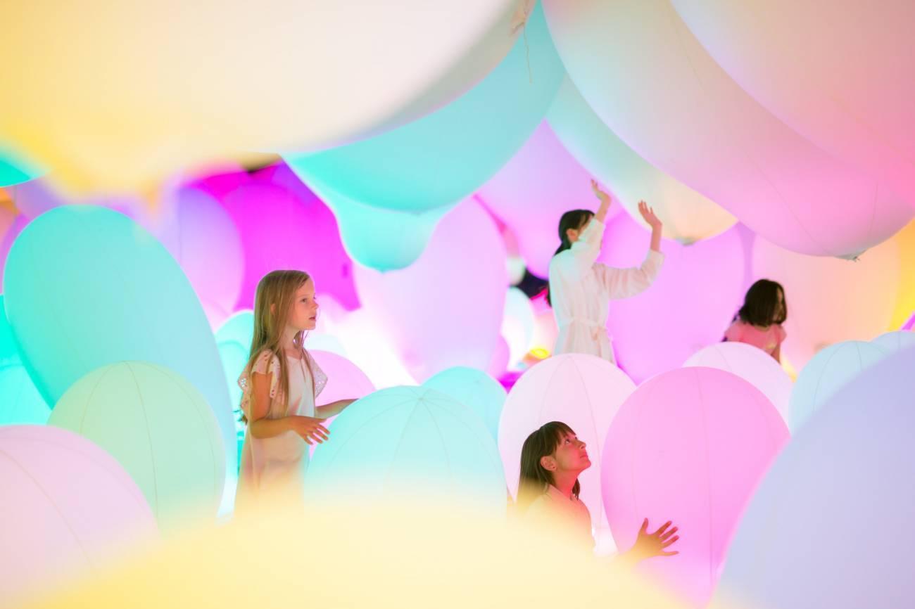 名古屋市科学館「チームラボ★学ぶ!未来の遊園地」で楽しむ、新感覚アート体験! - teamlab6