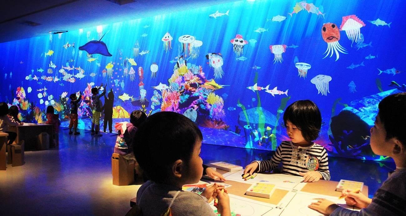 名古屋市科学館「チームラボ★学ぶ!未来の遊園地」で楽しむ、新感覚アート体験! - teamlab7