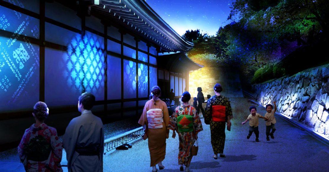 名古屋のシンボルが華やかに変身!「名古屋城夜会 by1→10」で光の演出とあったか料理を楽しむ - 2f18d396a4ca81f4724eb7fde6f40552 1110x582