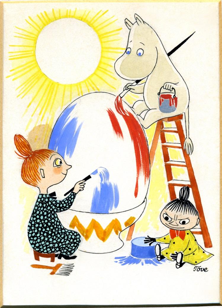 ムーミンの世界を味わう原画展「ムーミン展 THE ART AND THE STORY」松坂屋美術館で開催 - 390cbb6761d04f409f47d45da958689e