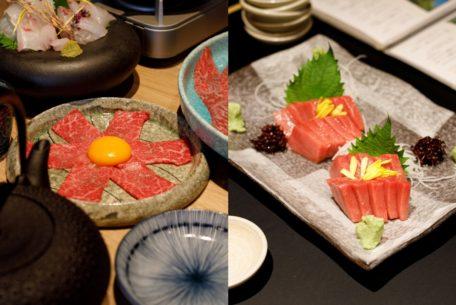厳選和牛すき焼きをカジュアルに「月邸ト蕎⻨ SUKIYUNO」&絶品みえまぐろに舌鼓を打つ「日本酒とSAKANA 魚や」