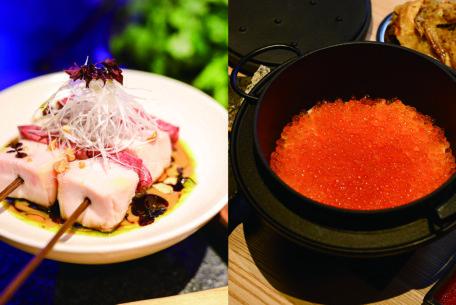 香ばしい炉端焼きでもてなす「ろばたの魚炉米」&4ジャンル超えた料理を楽しむ「GRAND KAZAN ~グランカザン~」