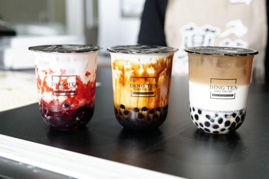 タピオカと茶葉にこだわる台湾最大級のドリンクブランド「DING TEA」が名古屋に上陸!