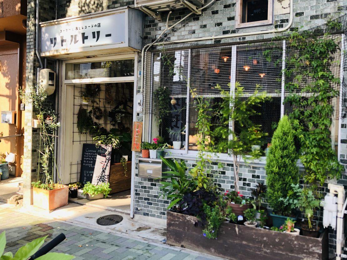 上質なモーニングから始めよう。亀島「コーヒーと本とレコードの店 リトルトリー」 - IMG 3491 1110x833