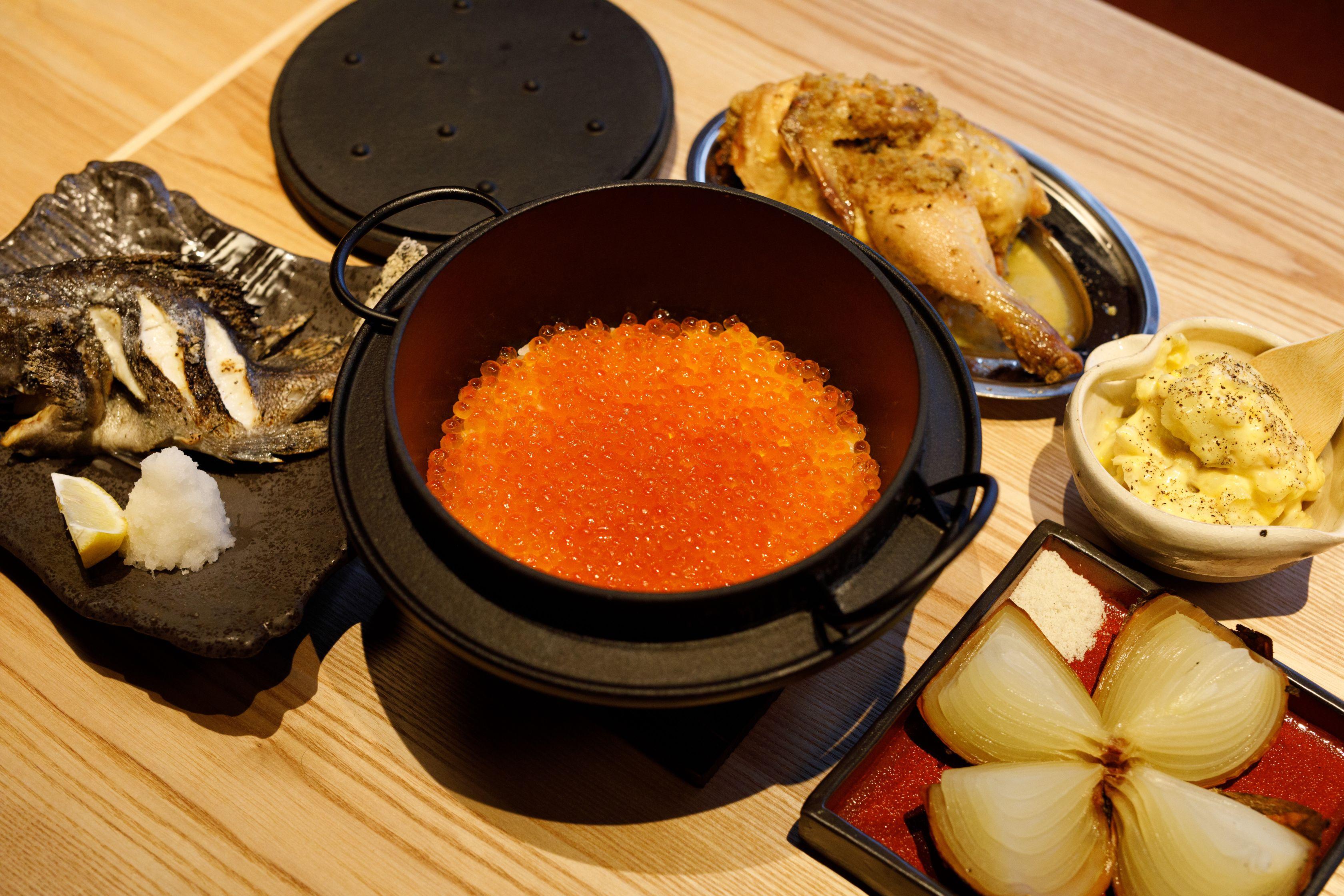 香ばしい炉端焼きでもてなす「ろばたの魚炉米」&4ジャンル超えた料理を楽しむ「GRAND KAZAN ~グランカザン~」 - MG 2138