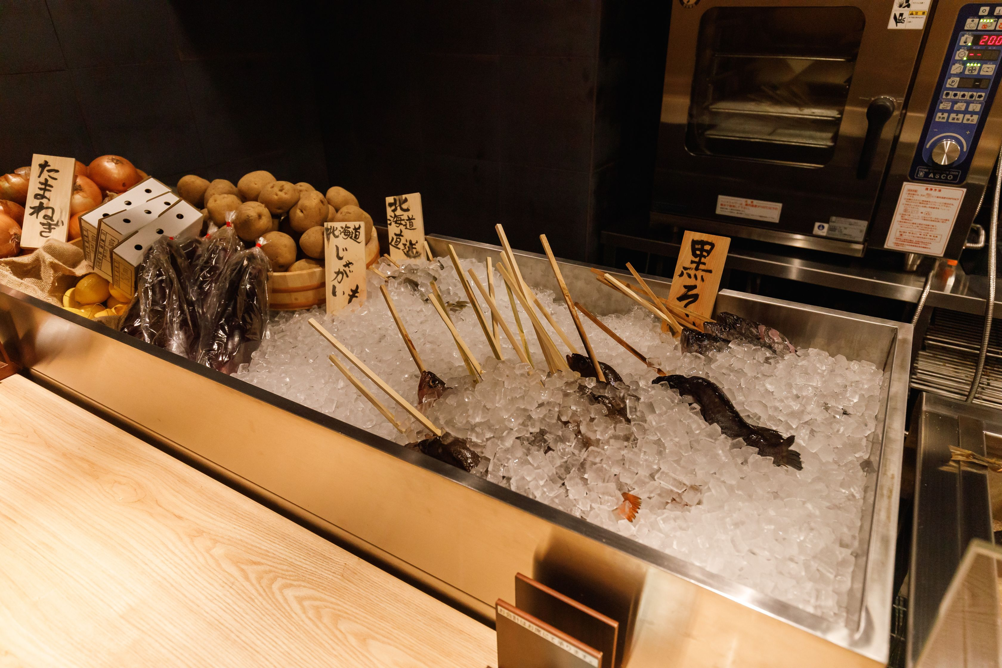香ばしい炉端焼きでもてなす「ろばたの魚炉米」&4ジャンル超えた料理を楽しむ「GRAND KAZAN ~グランカザン~」 - MG 2143