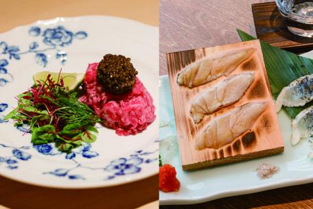 高級焼肉「雪月花 たなかさとる」の絶品ユッケ&ふぐを気軽に楽しめる「魚河岸酒場FUKU 浜金」