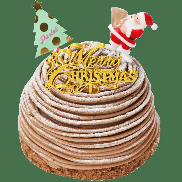 「Pastel」からプリンをまるごと使ったクリスマスケーキが登場! - sub5